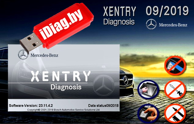 Xentry/DAS Mercedes для VAS5054